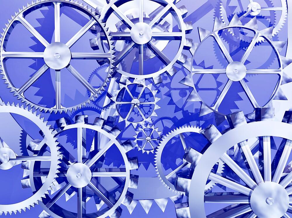 Clockwork steampunk by Norma Cornes