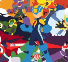 Megaman: Souls of a Hero Minimal Sticker