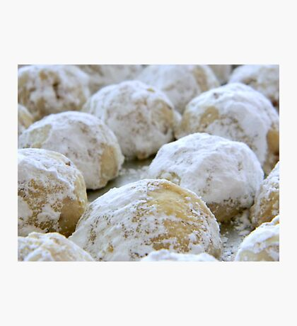 Pecan Cookies Photographic Print
