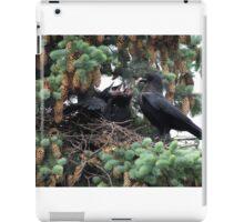 A murder of crow... iPad Case/Skin