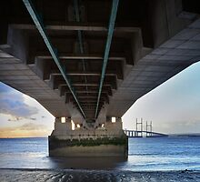 Severn Crossing 01 - Severn Beach by Paul Croxford