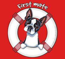 Boston Terrier :: First Mate Kids Tee
