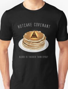 Hotcake Covenant (Black) Unisex T-Shirt