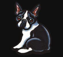 Cute Boston Terrier One Piece - Long Sleeve