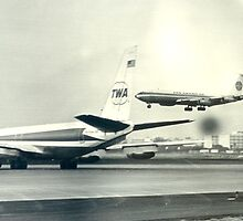 Pan American and Trans World 707s by Jamie Baldwin