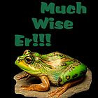 Much Wise Er!!! Greeting Card by Catherine Hamilton-Veal  