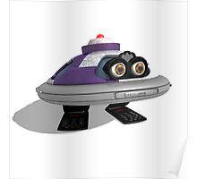 90's Retro Robot Poster