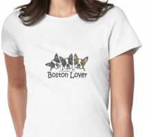Boston Lover Womens Fitted T-Shirt