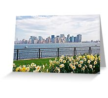 Springtime in New York Greeting Card