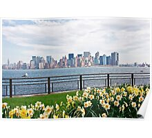 Springtime in New York Poster