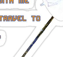 Voyage(r) to Infinity Sticker
