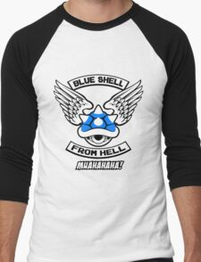 Blue Shell From Hell Men's Baseball ¾ T-Shirt
