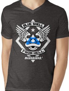 Blue Shell From Hell Mens V-Neck T-Shirt