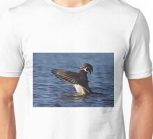 She went that away! - Wood Duck T-Shirt