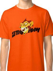 Angry Monkey - Orange/Red Classic T-Shirt