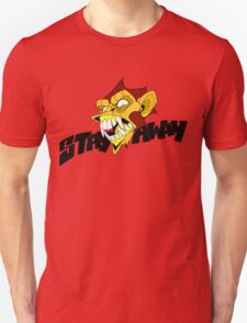 Angry Monkey - Orange/Red T-Shirt