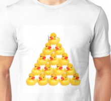 Duck Construction Workers Unisex T-Shirt