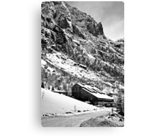 The Abandoned Mine Canvas Print