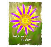 Just For You on Easter Photographic Print