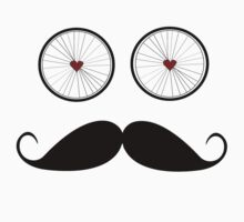 Handle bar mustache by Inspyre