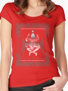Celtic Cthulhu Women's Fitted Scoop T-Shirt
