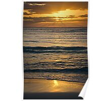 Sunrise over Playa Poster