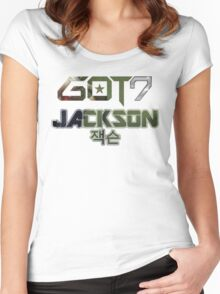 GOT 7 Jackson (Mad) Women's Fitted Scoop T-Shirt
