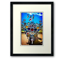 Mod Transport Framed Print