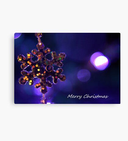 Star for Christmas Canvas Print