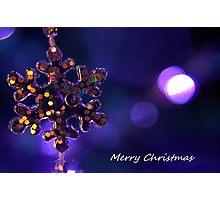 Star for Christmas Photographic Print