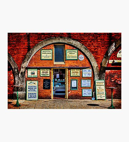 Smoke Me  A Kipper And I'll Be Back For Breakfast Photographic Print