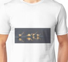 Fishing - Great Egrets Unisex T-Shirt