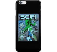 Cthulhu on the cover of SCIFI iPhone Case/Skin