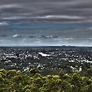 Brisbane from Mt Coot Tha by AHakir