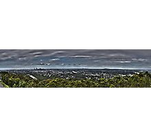 Brisbane from Mt Coot Tha Photographic Print