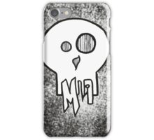 Put some style up to your skull iPhone Case/Skin