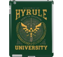 Hyrule University iPad Case/Skin
