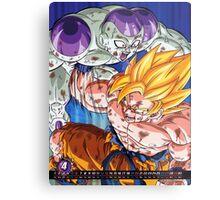 Goku vs Frieza Metal Print