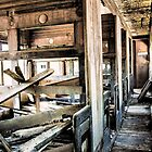 old railway passenger carriage by outbacksnaps