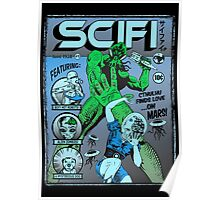 Cthulhu on the cover of SCIFI Poster