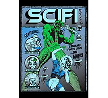 Cthulhu on the cover of SCIFI Photographic Print