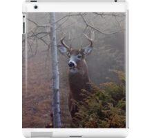 Big necked buck - White-tailed Deer iPad Case/Skin