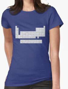Table of Elements Womens Fitted T-Shirt