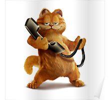 Garfield Telephone Poster
