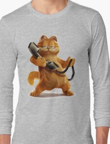 Garfield Telephone Long Sleeve T-Shirt
