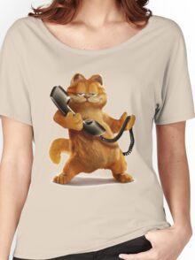 Garfield Telephone Women's Relaxed Fit T-Shirt