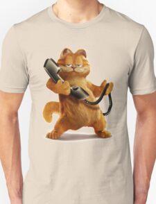 Garfield Telephone Unisex T-Shirt