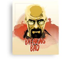 walter white. Breaking bad Canvas Print