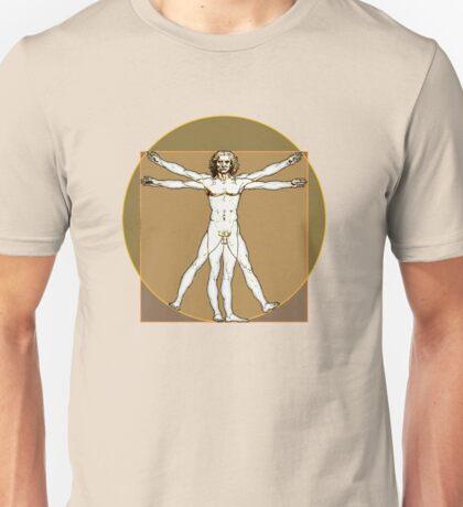 Vitruvian Dude Unisex T-Shirt