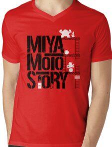 Miyamoto Story Mens V-Neck T-Shirt